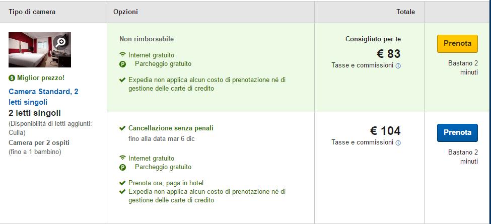 user experience Expedia.com