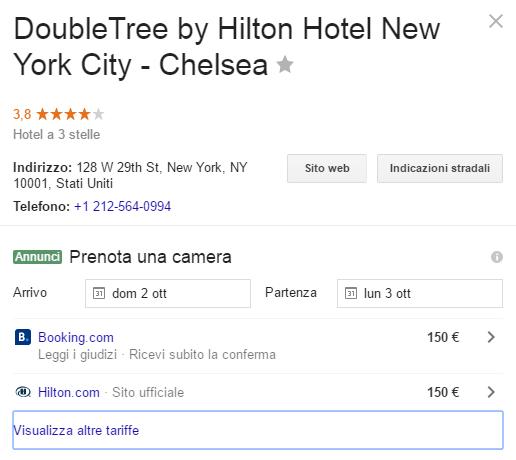Hotel Ads Hilton New York